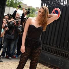 Kristen Stewart à Paris : sexy et transparente (mais pas souriante) pour le défilé Zuhair Murad
