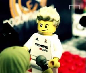 La carrière de David Beckham en mode LEGO