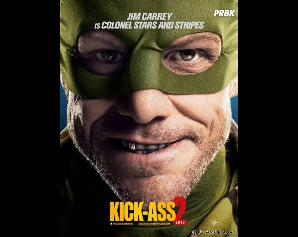 Jim Carrey considère Kick Ass 2 comme trop violent