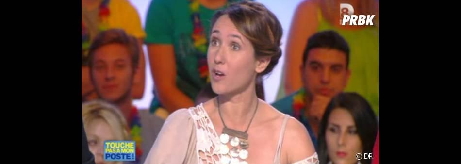 Alexia Laroche-Joubert se fait critiquer par Matthieu Delormeau