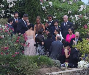Mariage de Xavi le 13 juillet 2013 en Catalogne