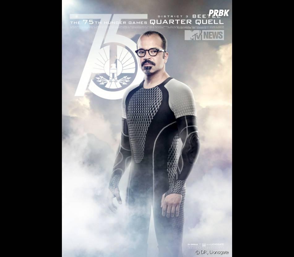 Hunger Games 2 : Beteesur unposter spécial Jeux d'Expiation