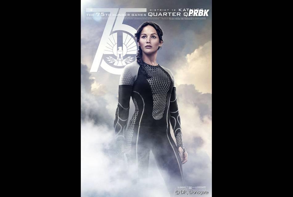 Hunger Games 2 : Katniss sur un poster spécial Jeux d'Expiation