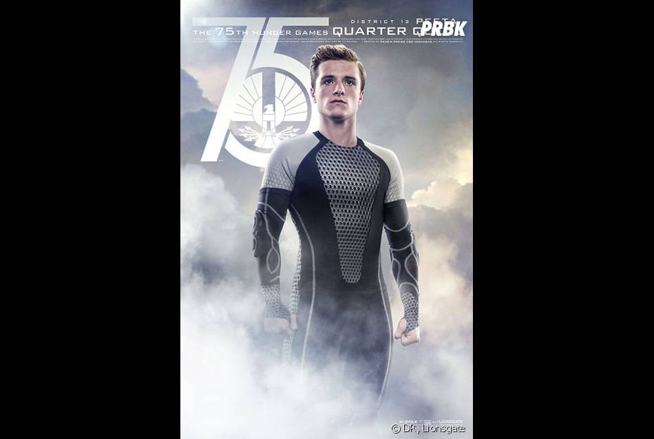Hunger Games 2 : Peeta sur unposter spécial Jeux d'Expiation