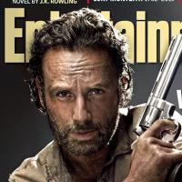 The Walking Dead saison 4 : Rick, Daryl et Carl en Une d'EW, Bob Stookey se dévoile (SPOILER)