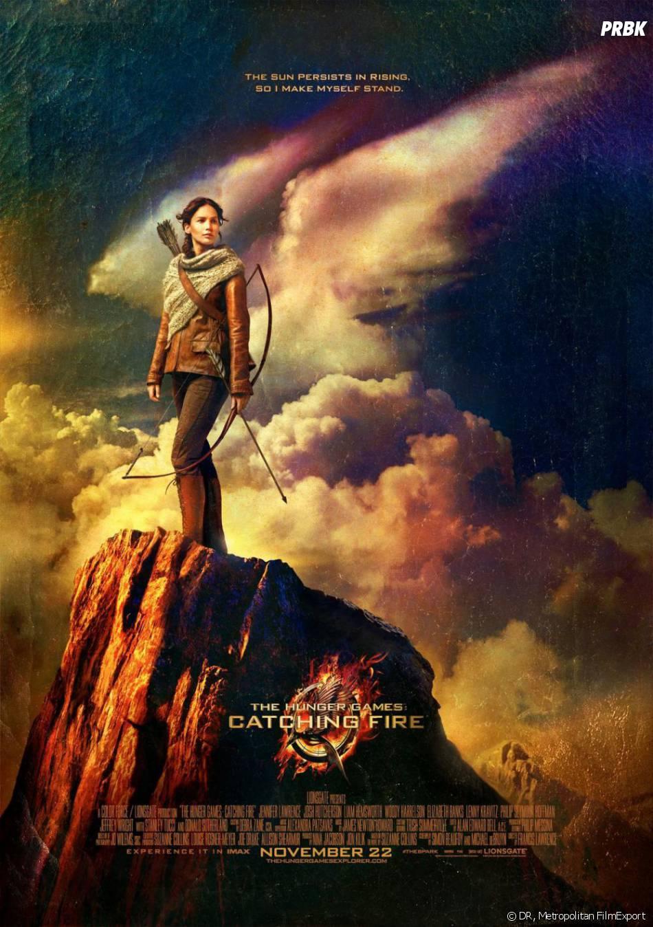 Hunger Games 2 : Jennifer Lawrence sur un poster