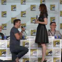 Bones : David Boreanaz demande Emily Deschanel en mariage au Comic Con 2013