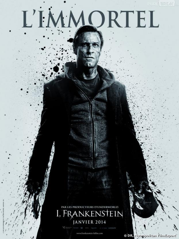 I, Frankenstein : poster en exclu avec Aaron Eckhart