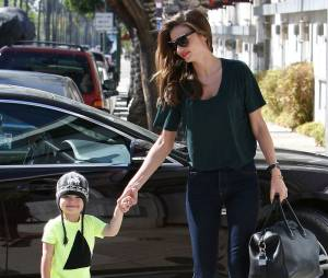 Miranda Kerr est maman d'un petit Flynn Christopher Bloom.