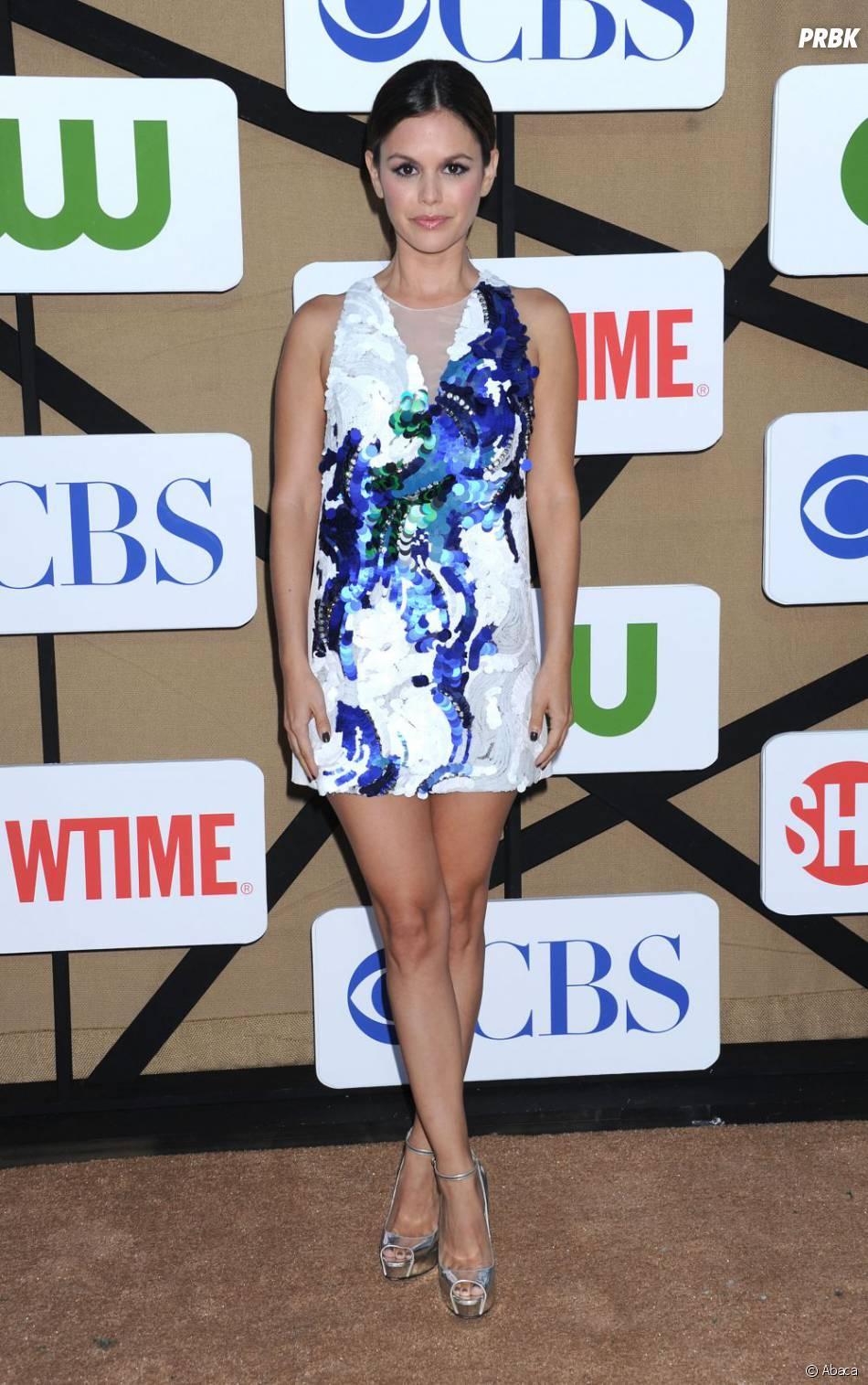 Rachel Bilson, atout charme de la CW aux TCA's de Los Angeles le 29 juillet 2013