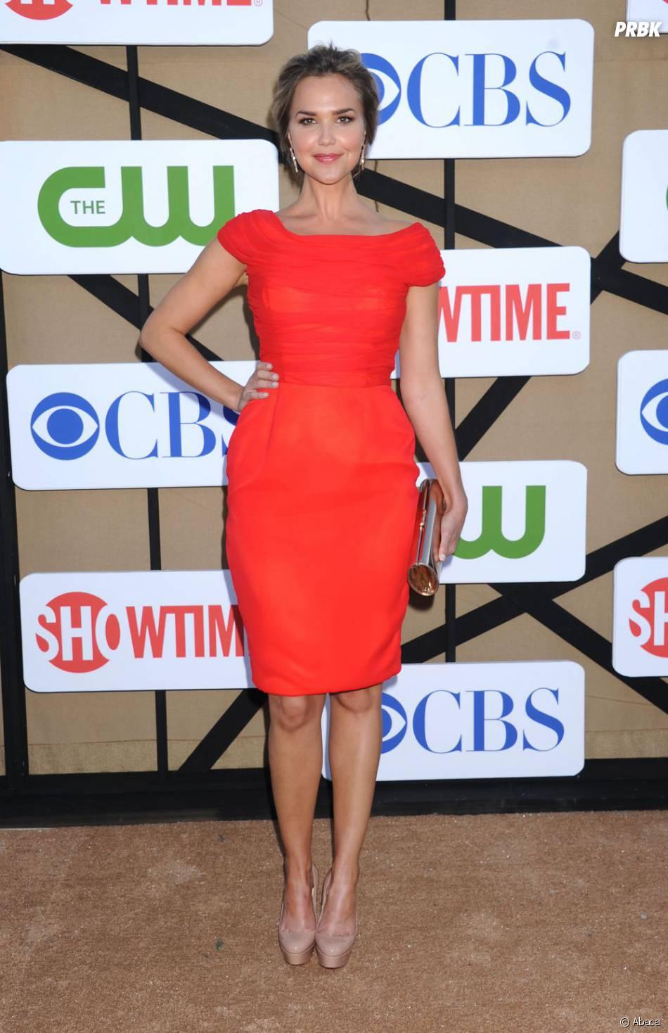 Arielle Kebbel aux TCA's de Los Angeles le 29 juillet 2013