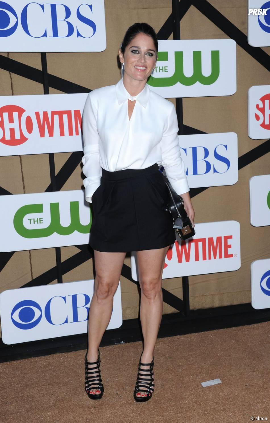 Robin Tunney aux TCA's de Los Angeles le 30 juillet 2013