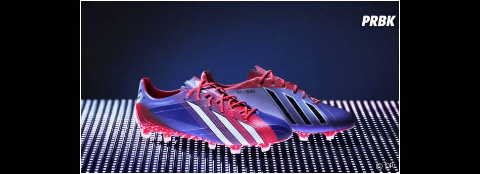 """Adidas présente ses crampons """"adizero f50 Messi"""""""