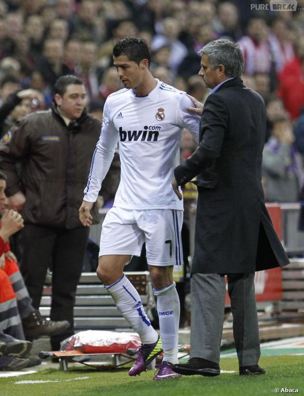 Cristiano Ronaldo et José Mourinho : des relations tendues