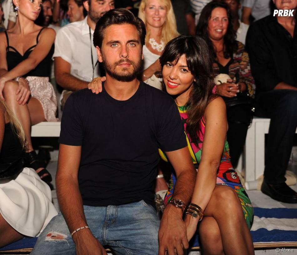 Kourtney Kardashian et Scott Disick à Miami, le 21 juillet 2013