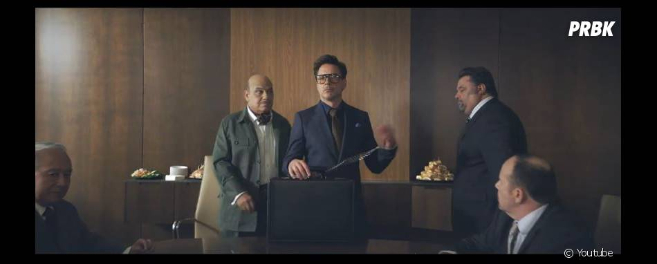Robert Downey Jr représente HTC dans les prochaines publicités de la marque