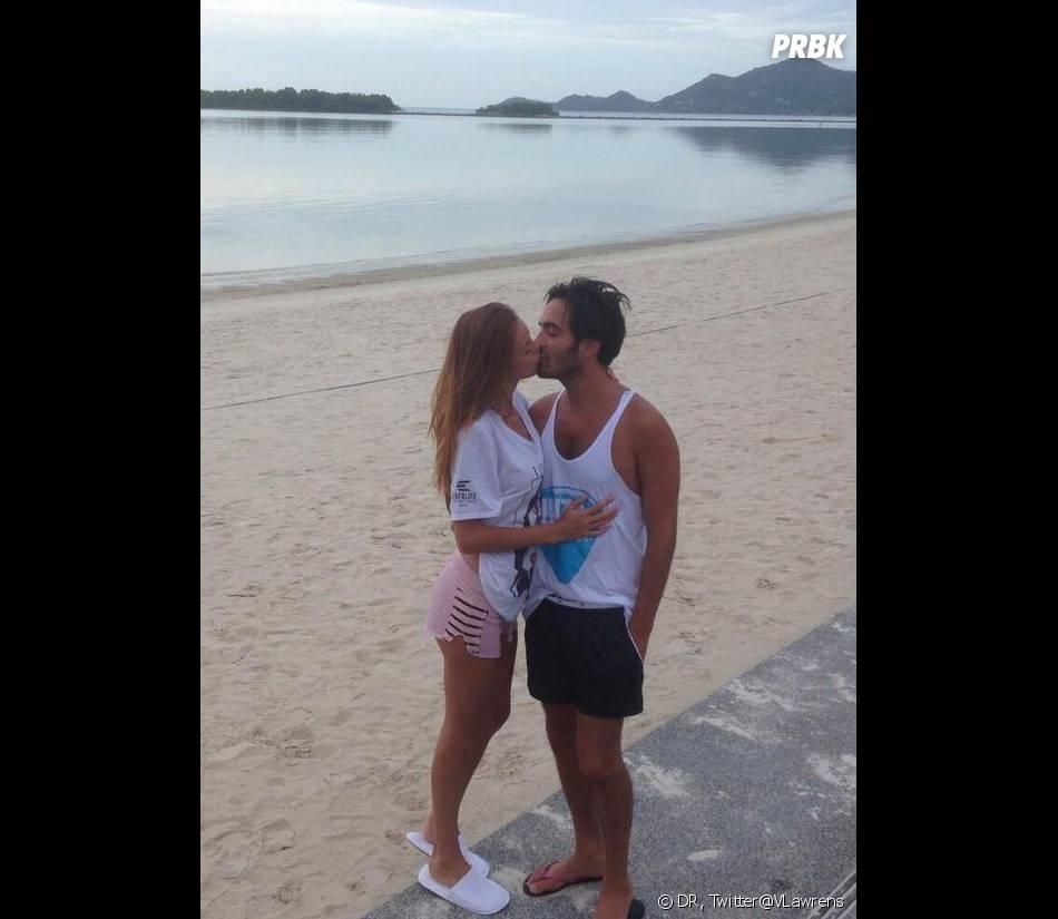 Les Anges 5 : Vanessa Lawrens en vacances en Thaïlande avec son amoureux sur Twitter.