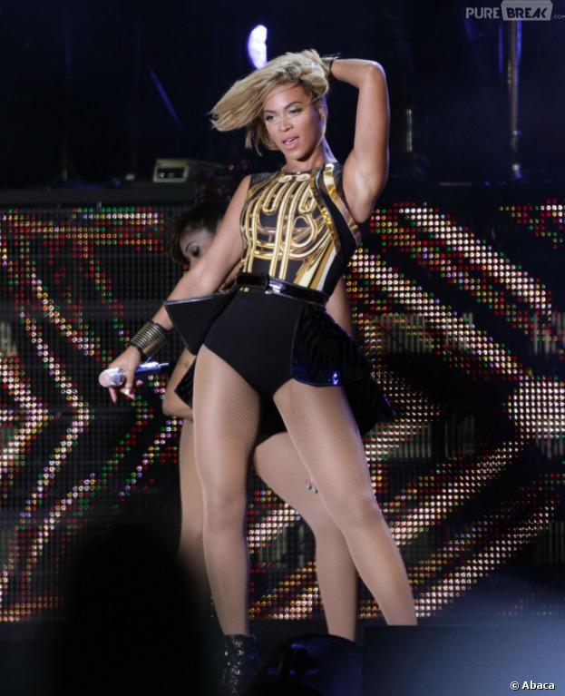 Beyoncé : overdose de poulet après le V Festival, le 17 août 2013