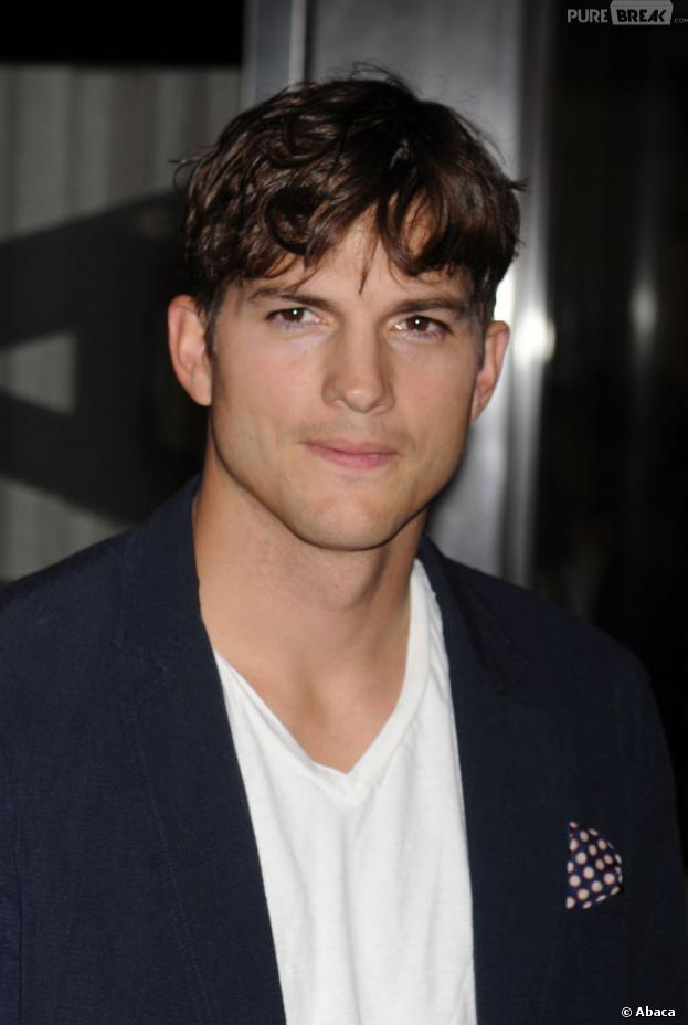 Ashton Kutcher à New York en août 2013