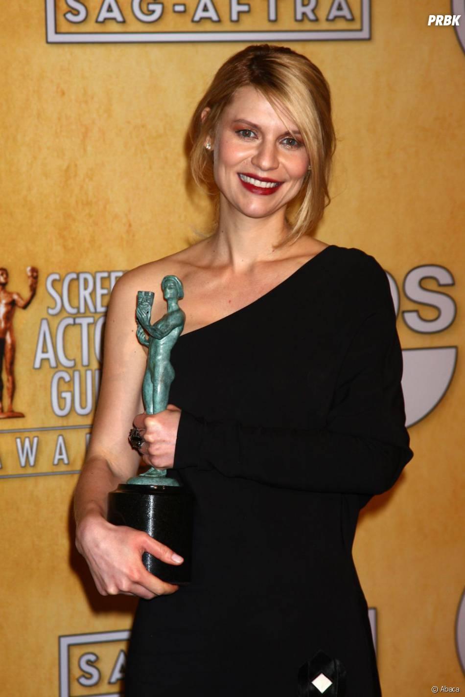 Claire Danes est la seconde actrice de séries dramatiques la mieux payée du petit écran