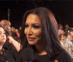 Naya Rivera parle du rôle de Demi Lovato dans Glee aux MTV VMA 2013, le 25 août 2013 à New York