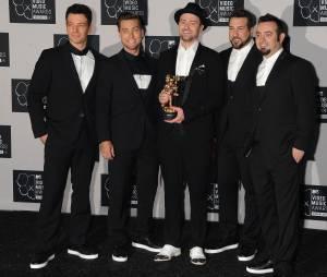 Justin Timberlake et les N'Sync, aux MTV VMA 2013
