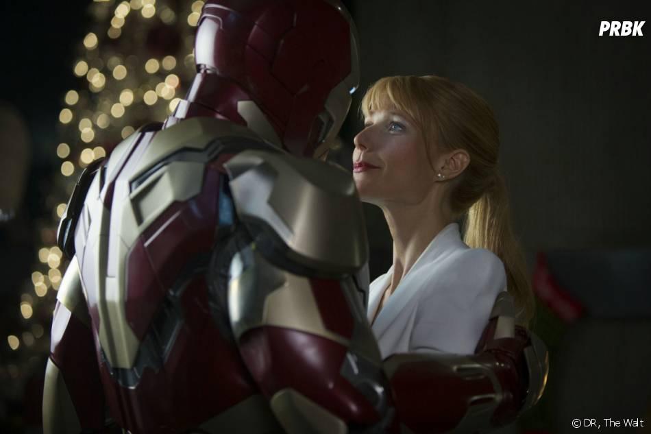 Iron Man 3 : Robert Downey Jr et Gwyneth Paltrow