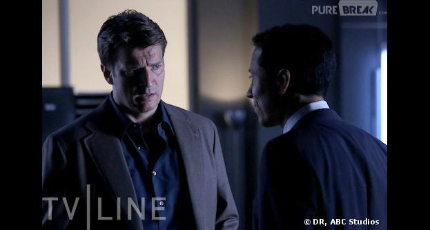 Castle saison 6 : Nathan Fillion et Yancey Airas sur une nouvelle photo