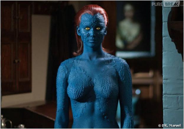 Jennifer Lawrence nue pour Mystique