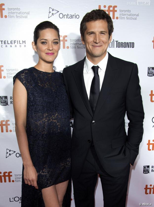 Marion Cotillard et Guillaume Canet au Festival du Film de Toronto pour présenter Blood Ties