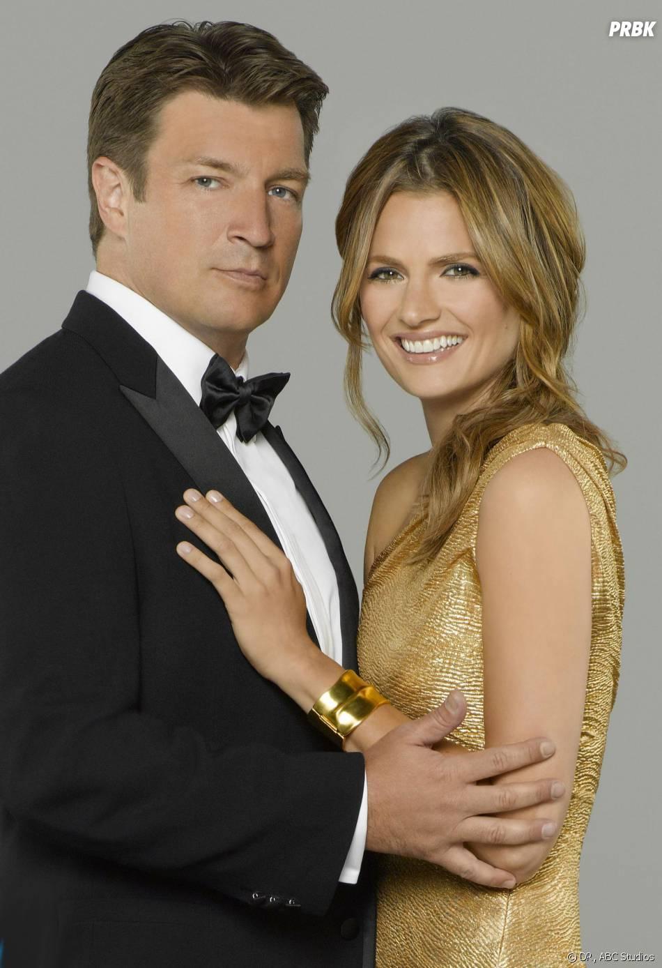Castle saison 6 : Nathan Fillion et Stana Katic