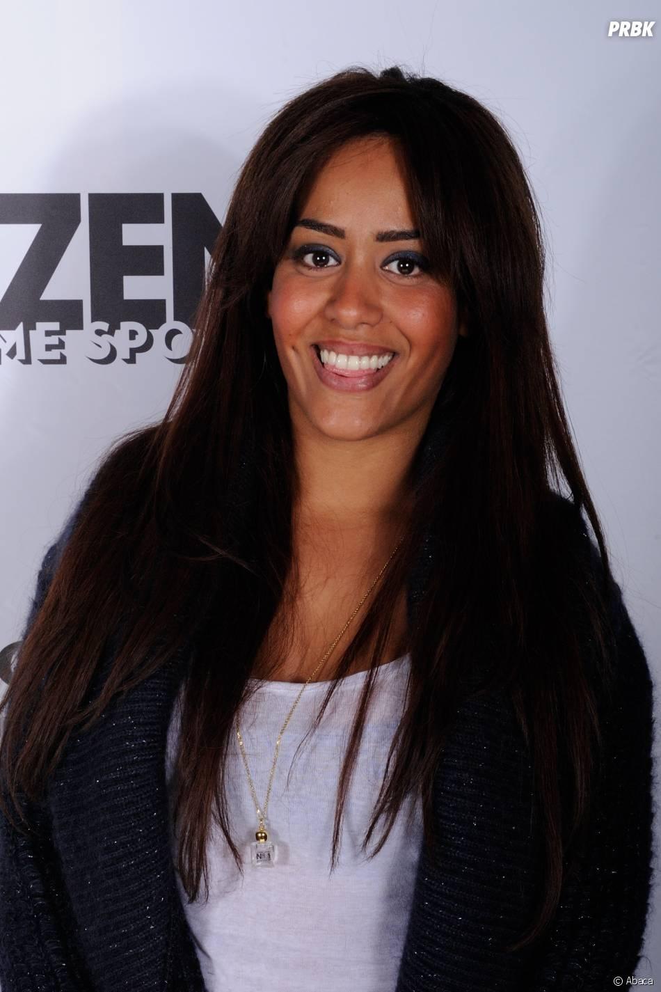 Amel Bent à Paris, le 28 mars 2013