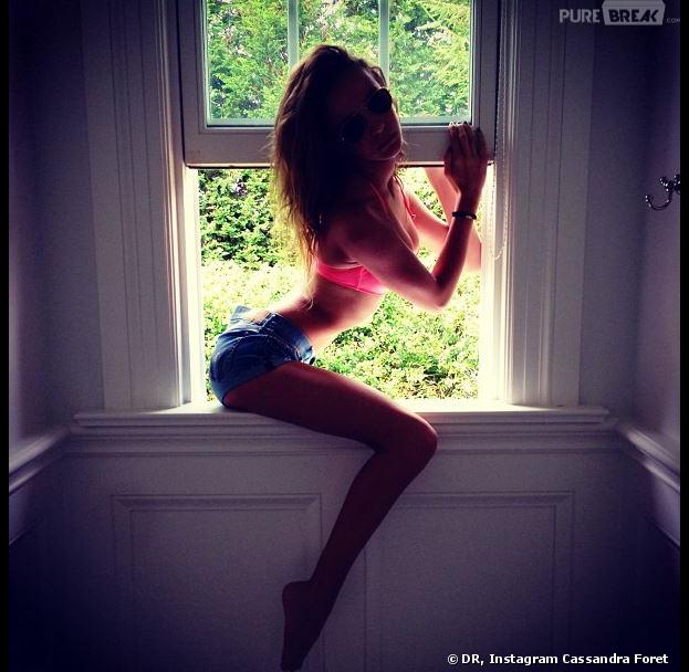 Cassandra Foret, la soeur de Jade Foret, trop sexy sur Instagram ?