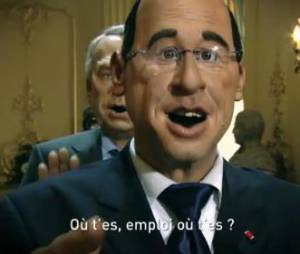 Emploioutai : la parodie de François Hollande version Papapoutai de Stromae