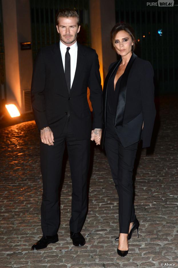 David et Victoria Beckham : so chic pour la Fashion Week de Londres