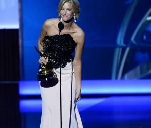 Emmy Awards 2013 : Anna Gunn sur scène le 22 septembre 2013 à Los Angeles