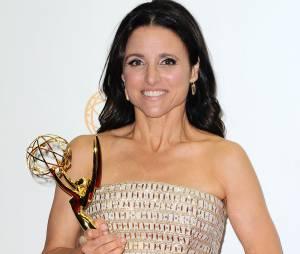 Emmy Awards 2013 : Julia Louis Dreyfus le 22 septembre 2013 à Los Angeles