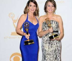 Emmy Awards 2013 : Tina Fey remporte un prix pour les scénarios de 30 Rock le 22 septembre 2013 à Los Angeles