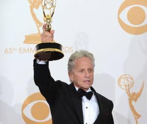 Emmy Awards 2013 : Michael Douglas remporte un prix pour Ma vie avec Liberace le 22 septembre 2013 à Los Angeles