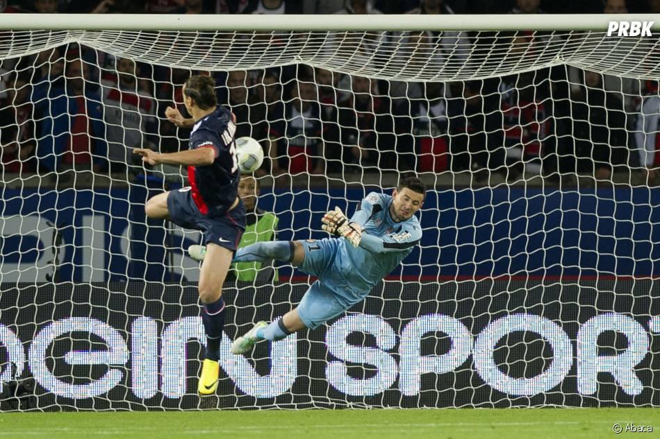 PSG VS AS Monaco : le but de Zlatan Ibrahimovic, le 22 septembre 2013 au Parc des Princes