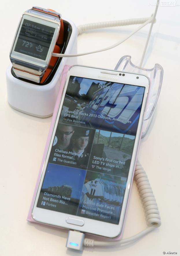 Galaxy Gear, Galaxy Note 3 et Galaxy Note 10.1 Edition 2014 : sortie le 25 septembre 2013