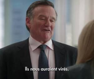 Sarah Michelle Gellar donne la réplique à Robin Williams dans The Crazy Ones.