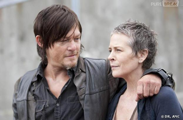 The Walking Dead saison 4 : Daryl et Carol en couple ?