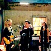 Glee saison 5 : scène chantée entre Lea Michele, Demi Lovato et Adam Lambert