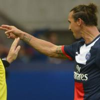 """Zlatan Ibrahimovic : son """"pistolet"""" face à Toulouse fait la polémique"""