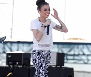 Cher Lloyd sur la scène du iHeartRadio Music Festival à Las Vegas, le 21 septembre 2013