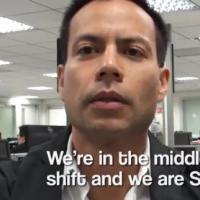 Démission buzz en vidéo : la réplique du boss !