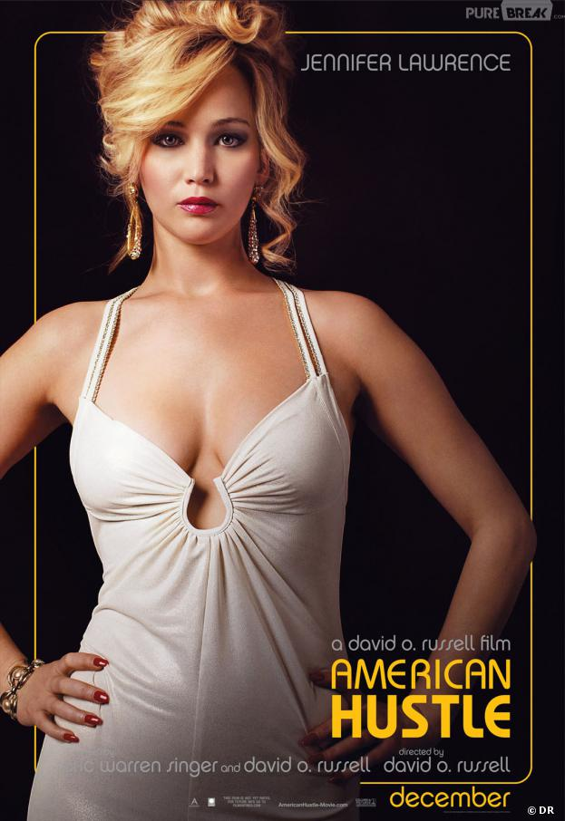 American Hustle : l'affiche-personnage de Jennifer Lawrence