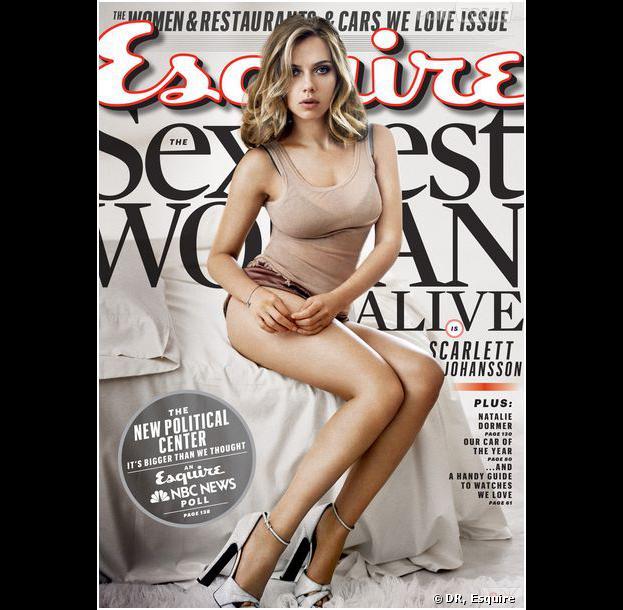 Scarlett Johansson : la plus hot de 2013 selon Esquire