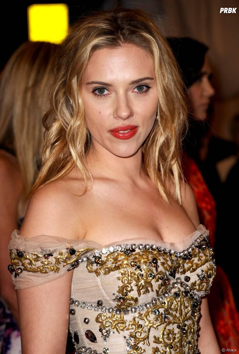 Scarlett Johansson à New York, le 7 mai 2012